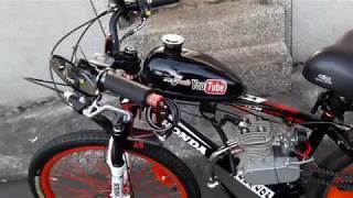 motorized bike Sepeda castem pake mesin