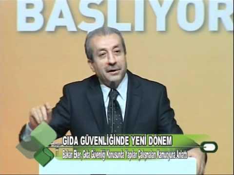 GIDA GÜVENLİĞİNDE YENİ DÖNEM 13.01.2012