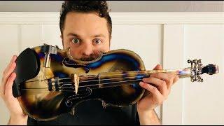 Metallica on a Titanium Violin