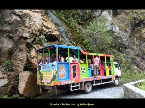 2012 Ecuador   Banos, Rio Pastaza, Ruta por Rio Verde, Velo, 3, Like A Bird Over The Rio, Canopy