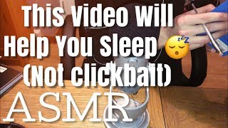 💤 ASMR 🎧 - This Video Will Help You Sleep. 😴 Guarenteed Tingles.👂🏻🧠😴