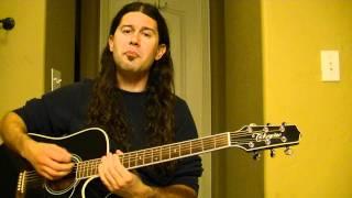 Uncle Kracker - Follow Me. (acoustic cover).