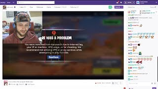I found a Twitch streamer Cheating in Fortnite LIVE