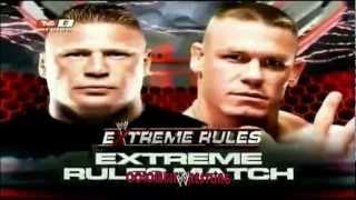 WWE Extreme Rules 2012 - John Cena vs Brock Lesnar Promo Español (CW)