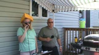 Red Oak Ln. Backyard Party -Johnsburg, Illinois 7-17-10