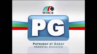MTRCB PG TV Rating English