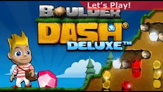 Boulder Dash Deluxe gameplay