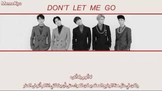 SHINee - Don't Let Me Go (Arabic Sub)