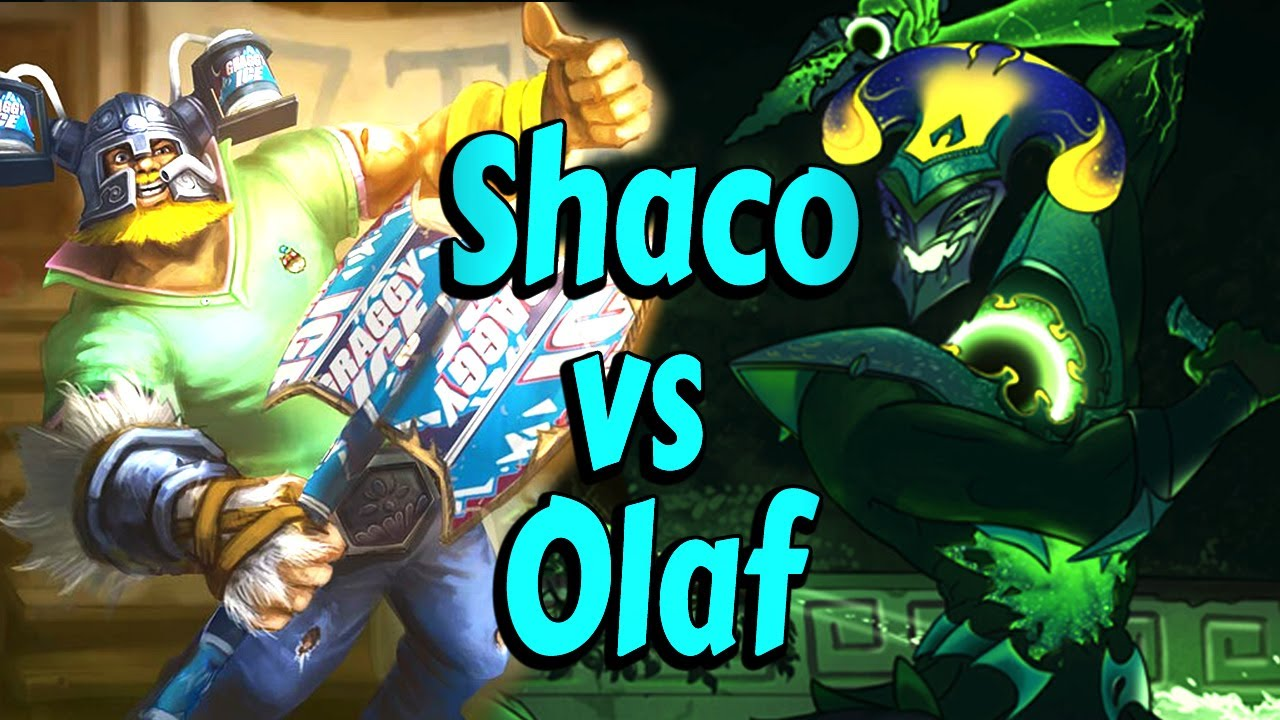 Shaclone - This is why you don't pick Olaf into Shaco in High Elo Jungle