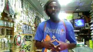 Ras Pedro - Freestyle Spanish Reggae - Live at  Ethiopian Taste!