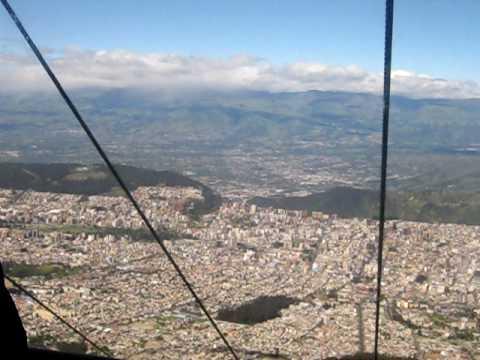El Teleférico de Quito
