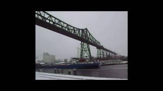 Die Hochbrücke in Rendsburg
