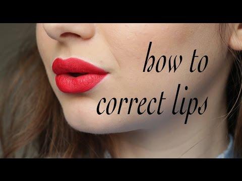 Cum conturam si corectam buzele