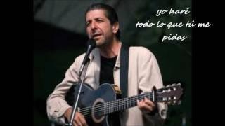 I,m your man - Leonard Cohen.wmv