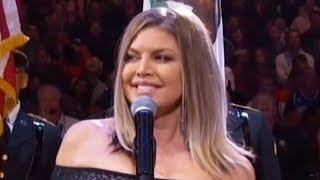 Fergie RESPONDS To Backlash Over Shocking National Anthem Performance