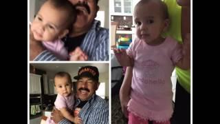 ¡El primer añito! Oscar D' Leon le cantó cumpleaños a su nieta