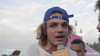 Réaction des festivaliers sur des questions politiques - Dour Festival