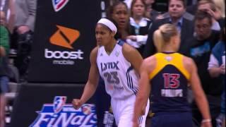 Top 5 Best Plays of the 2012 WNBA Finals Fever vs. Lynx!