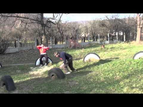LvivMotion & Desperados Parkour Roll all Nadvirna