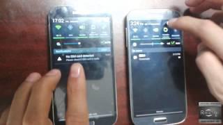 Samsung S4 comparacion original vs chino clon EXACTO
