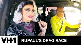 Drag Queen Carpool: Aja | RuPaul's Drag Race Season 9 | Now on VH1!