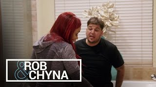 Rob & Chyna   Rob Kardashian Upset Over 20 Pound Weight Gain   E!