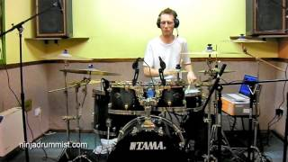 Drum Lesson: 10 Note Linear Fill Pattern Breakdown