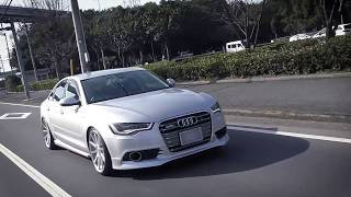 爆速!!  500psの0-100km/h加速!!  AUDI A6 3.0TFSI APR Ultracharger ウルトラチャージャー AUDI VW PRESS
