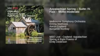Appalachian Spring – Suite: IV. Fast – Molto moderato