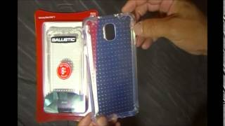 Ballistic Clear Jewel Case for the Samsung Galaxy Note 3