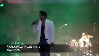 SANAM Live in Mauritius - Cute moment/Sanam blushing