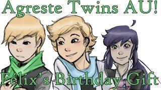 [Miraculous Ladybug Comic Dub] Agreste Twins AU! | Félix's Birthday Gift