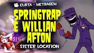Teoria Animada Springtrap é Wiliian Afton  - Curta de Animação - Quasar Jogos