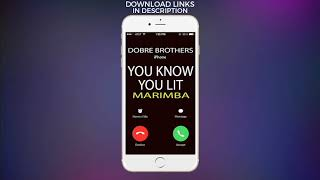 Latest iPhone Ringtone - You Know You Lit Marimba Remix Ringtone - Dobre Brothers