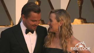 Kate Winslet and Leonardo DiCaprio Reunite at the 2016 Oscars #JackAndRoseForever