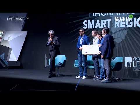 Video : Cérémonie de remise des prix du Hackathon 2018