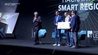 Cérémonie de remise des prix du Hackathon 2018