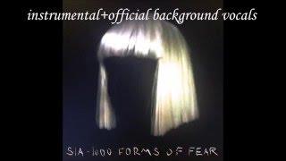 Sia - Chandelier Official Instrumental + Background Vocals +  Karaoke/Lyrics (in Subtitles)