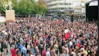 Cultural protest - Global Noise // Oporto, Portugal // 13 10 2012 // Dead Combo - Inquietação