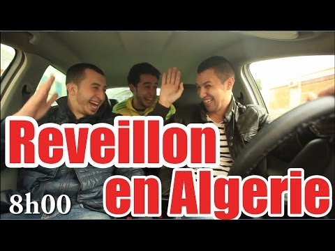 DZjoker Anes Tina et MGdz : Réveillon en ALGERIE