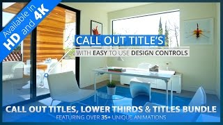 Call Out Title + Lower Thirds | After Effects Project Template