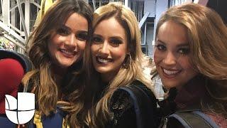 Clarissa, Ligia y Aleyda llegaron volando a Latin GRAMMY