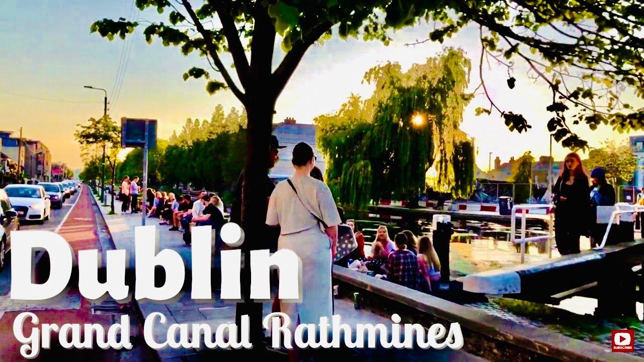 Grand Canal Dublin, Ireland| Rathmines Dublin, Portobello Road| Walking in Dublin