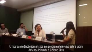 Crítica da mediação jornalística em programa televisivo sobre saúde