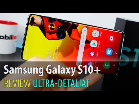 Samsung Galaxy S10+ Review în Limba Română