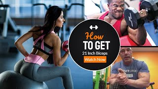 How to Get 21 Inch Biceps - or not - Using the 7 Minute Workout