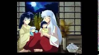 inuyasha and kagome happy family