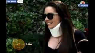 Ariadne Diaz habla del accidente en las grabaciones ECDL
