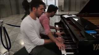Coldplay - Fix You (4 Hands Piano Cover)