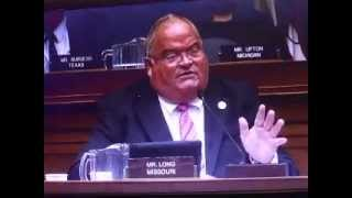 Why scrub that airliner - Congressional Hearing on Ebola Mr. Long Missouri